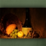 "Wallprint ""Wein Arrangement 2"""