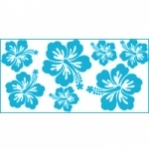 "Wandsticker ""Hibiskus 2"" - SmallPack"