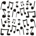 """Wandsticker """"Musik"""" - MediumPack"""