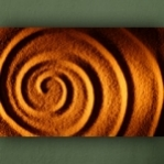 "Wallprint ""Sand Spirale"""