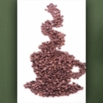 """Poster """"Café aus Bohnen"""""""
