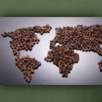"""Wallprint """"Café Weltweit"""""""