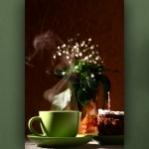 """Wallprint """"Café und Kuchen"""""""