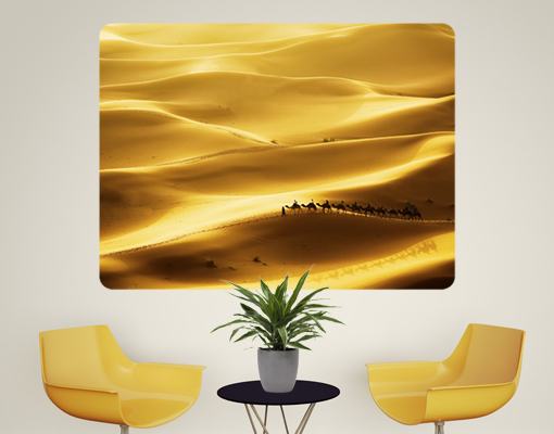 Wallprint Golden Dunes S  48cm x 36cm online bei Print It All kaufen