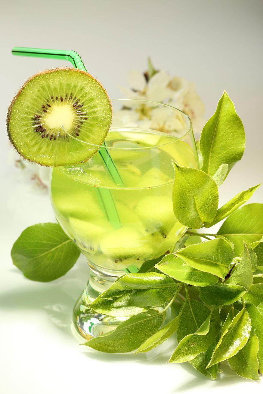 Mehrteilige Bilder Kuche : Wallprint Cocktail mit Kiwi 2 online bei Print It All kaufen