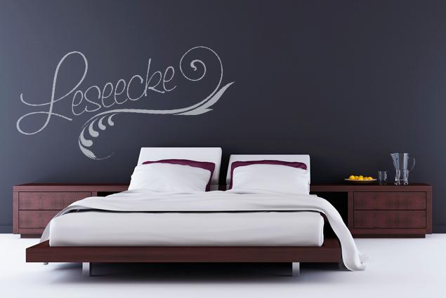 wandtattoo leseecke online bei print it all kaufen. Black Bedroom Furniture Sets. Home Design Ideas