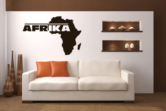 Wandtattoo afrika 3 online bei print it all kaufen for Wandtattoo afrika