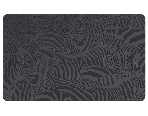 Wallprint Zebras schwarz S  70cm x 36cm online bei Print It All