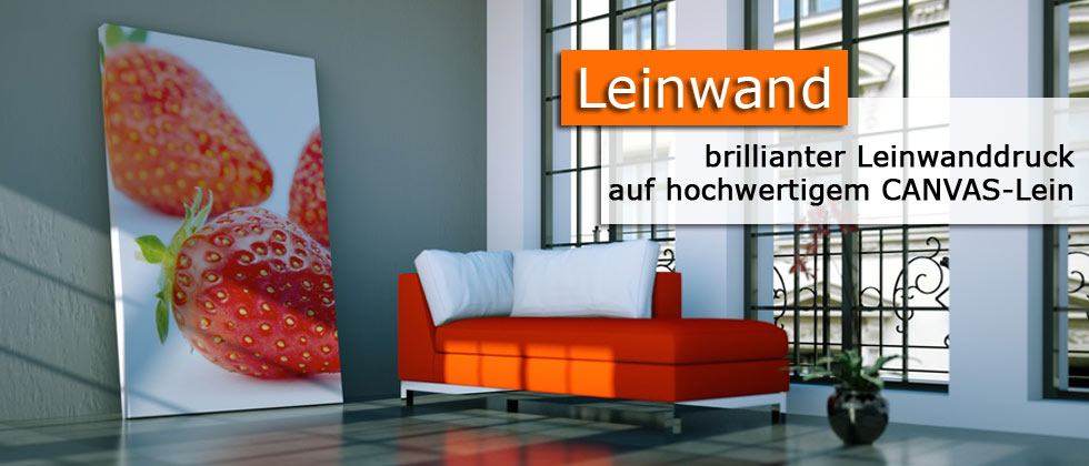 Banner Leinwand
